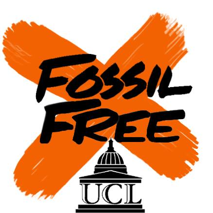 Logo of UCL Fossil Free